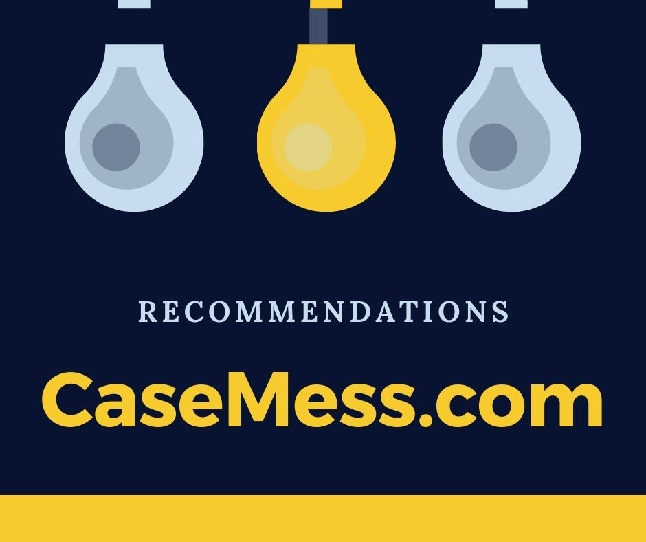 Recommendations Case study